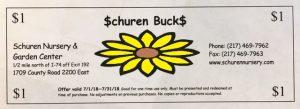 Schuren Bucks 2018